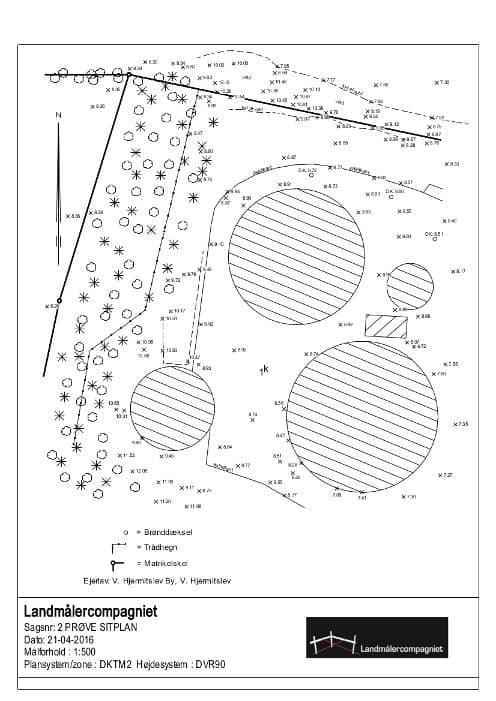 Detaljeret opmåling af byggegrunde og arealer